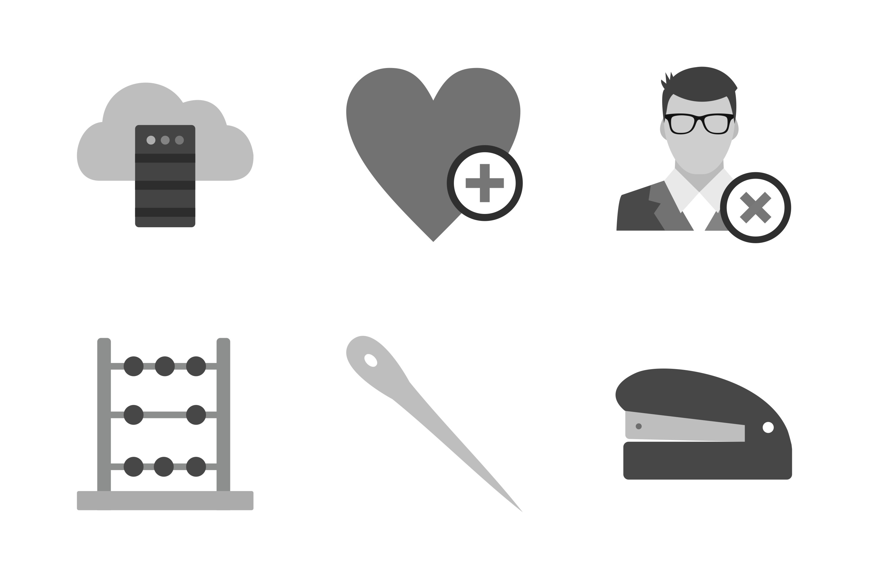 Set Of Universal Icons example image 1