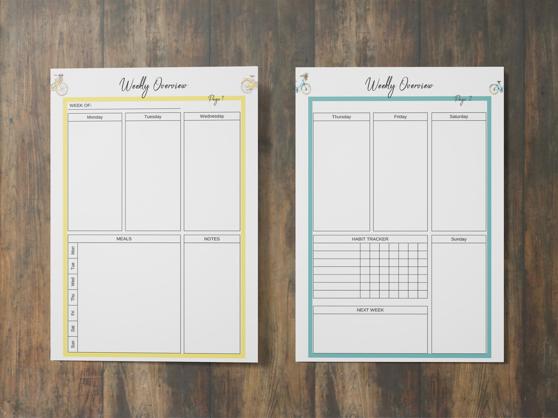 Life Planner Binder, Goal Planner Printable, Life Organizer example image 5