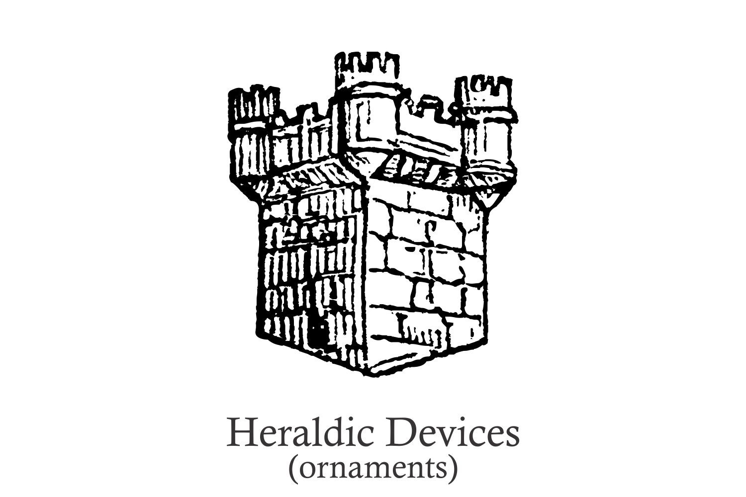 Heraldic Devices Premium (pack)  example image 6