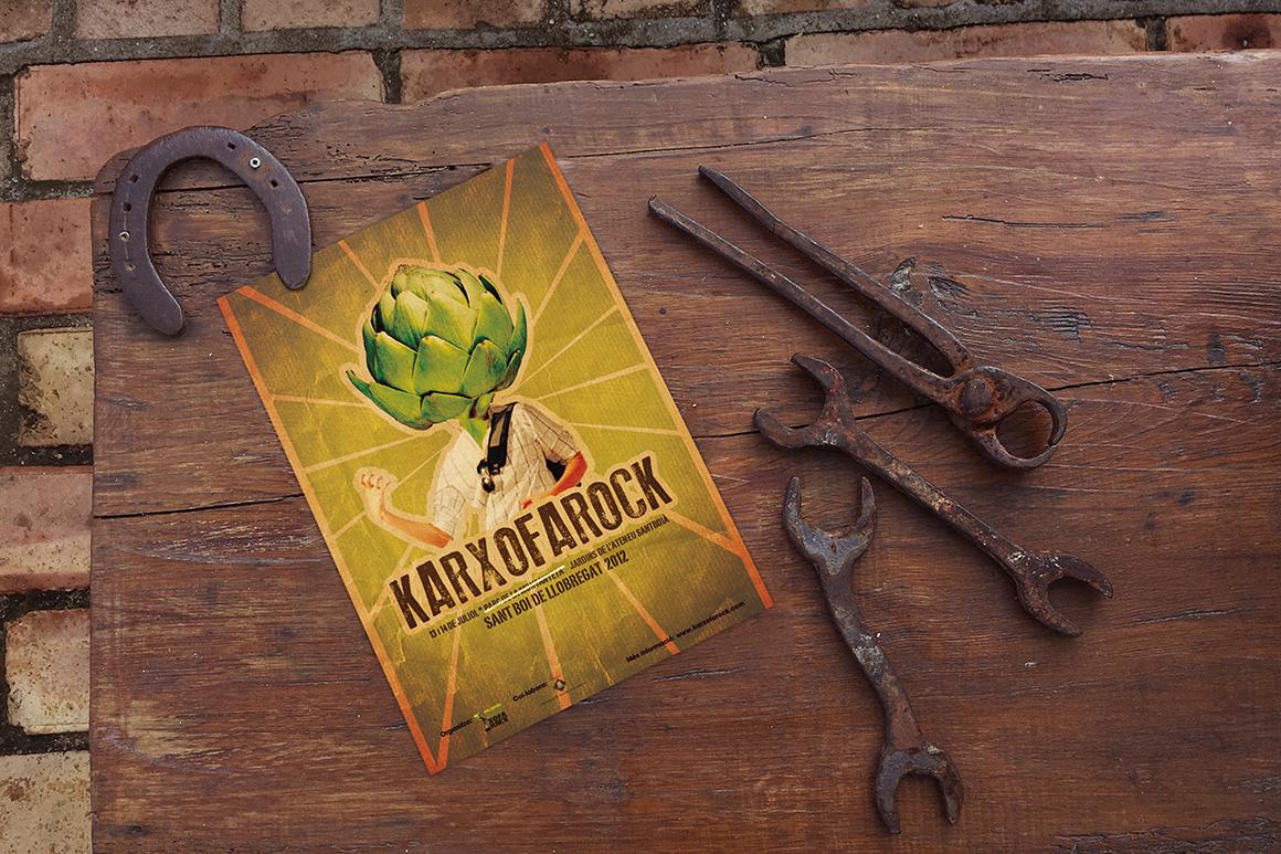The Horseshoe Poster Mockup example image 2
