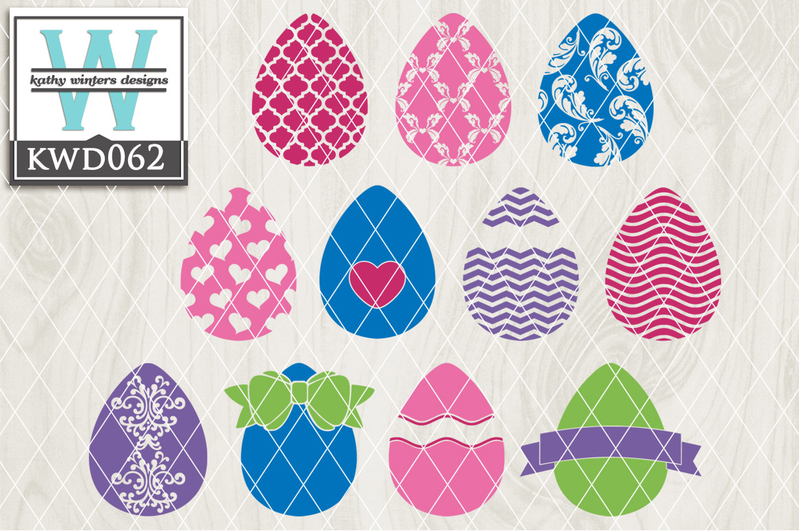 Easter Cutting File KWD062 example image 1