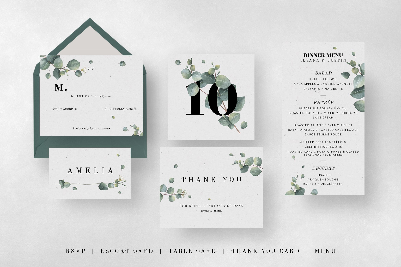 Eucalyptus Foliage Wedding Suite example image 9