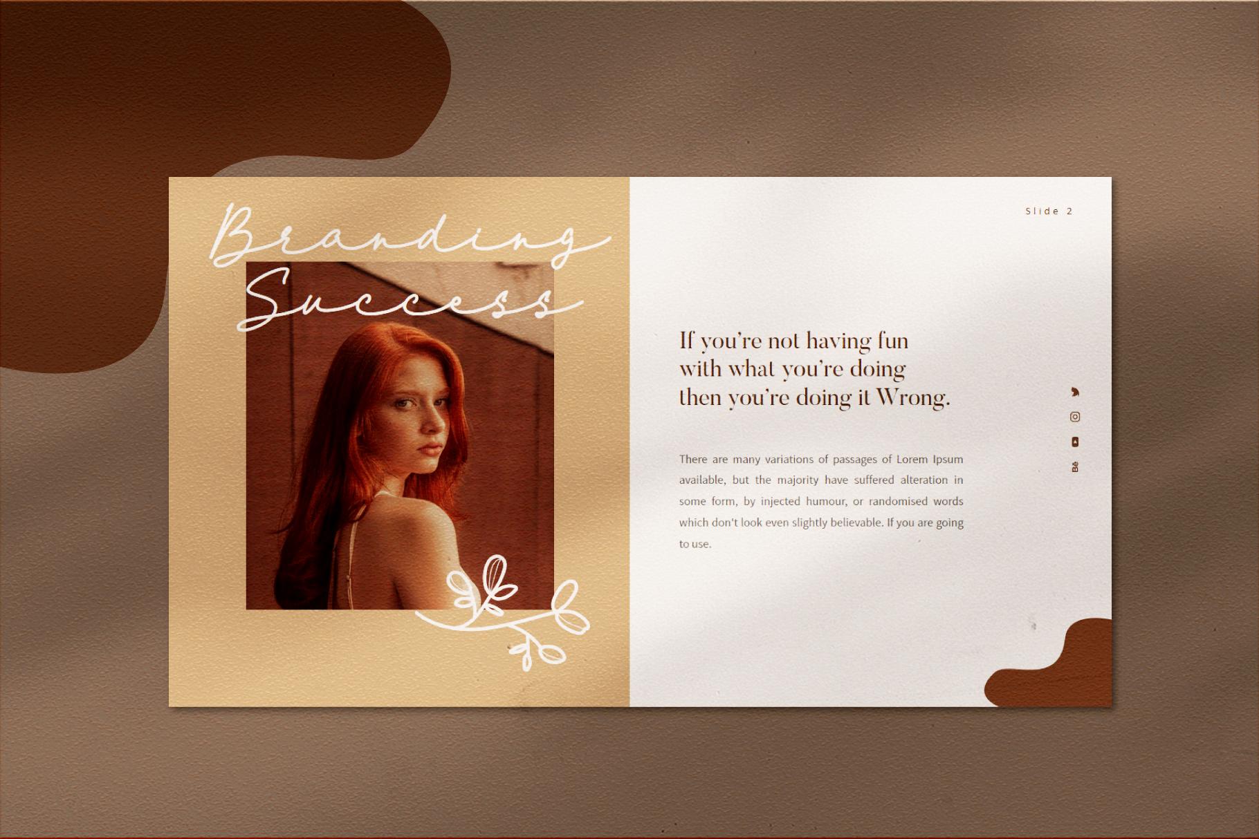 VIersa Creative Presentation Template example image 6