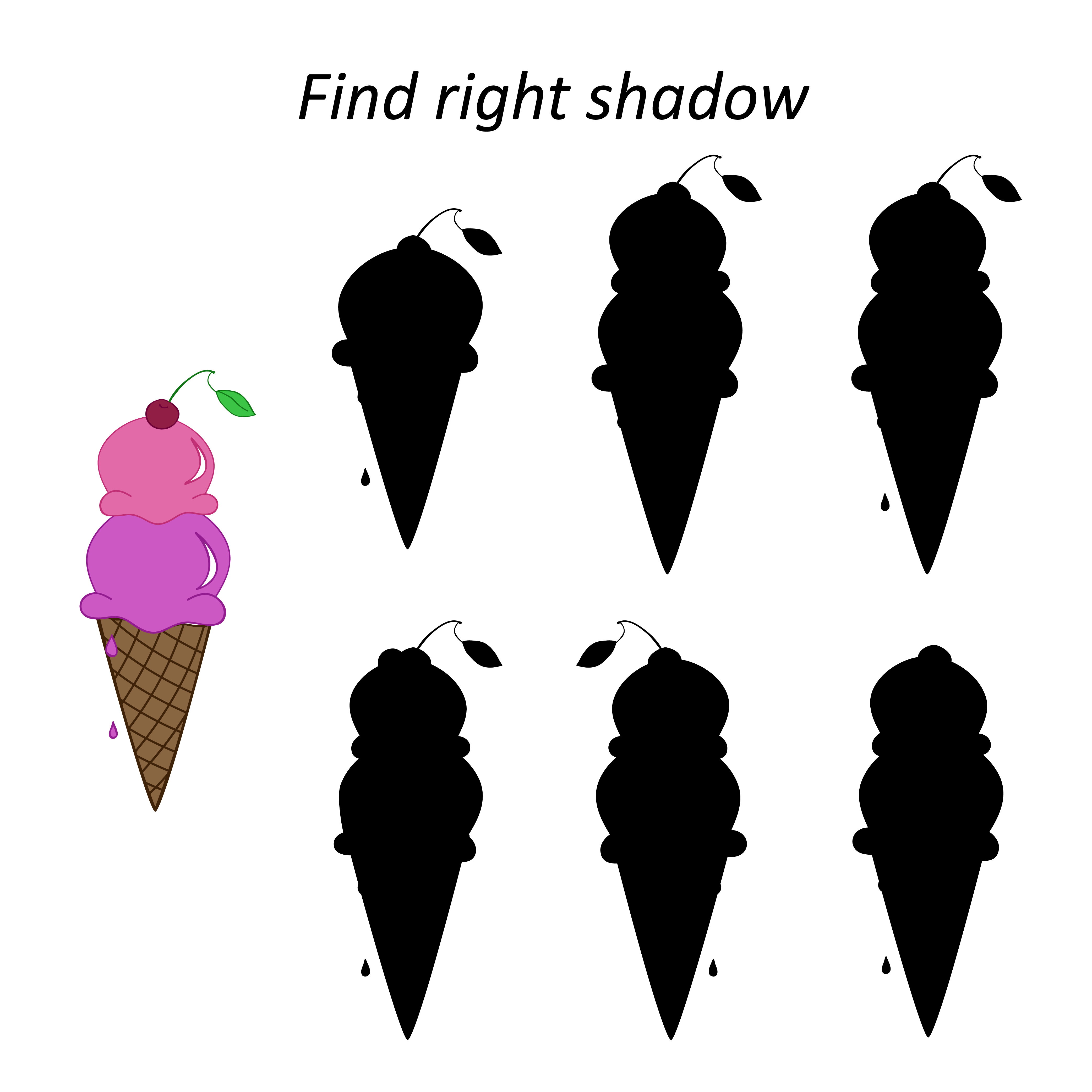 Easy preschool educational brainteasers set example image 11