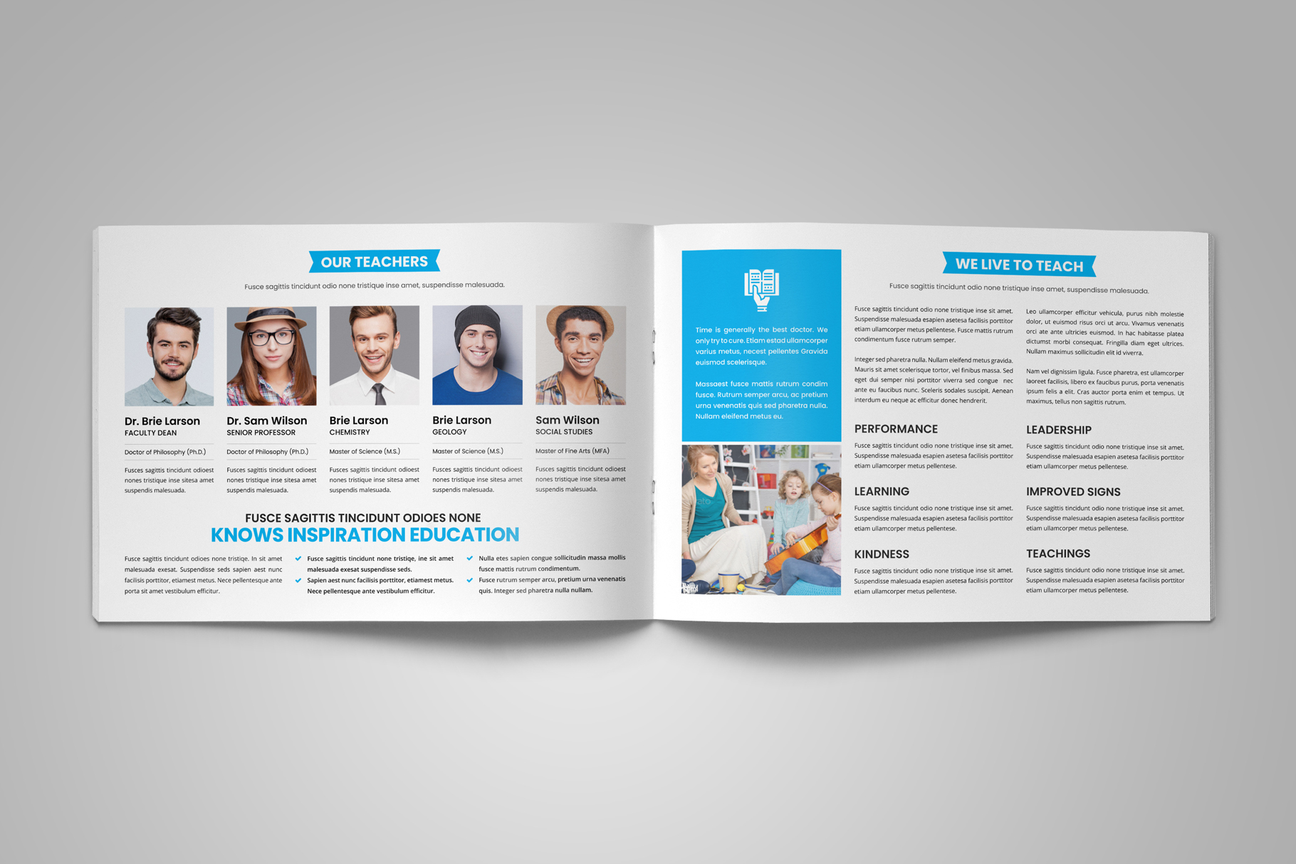 Education Prospectus Brochure v9 example image 8