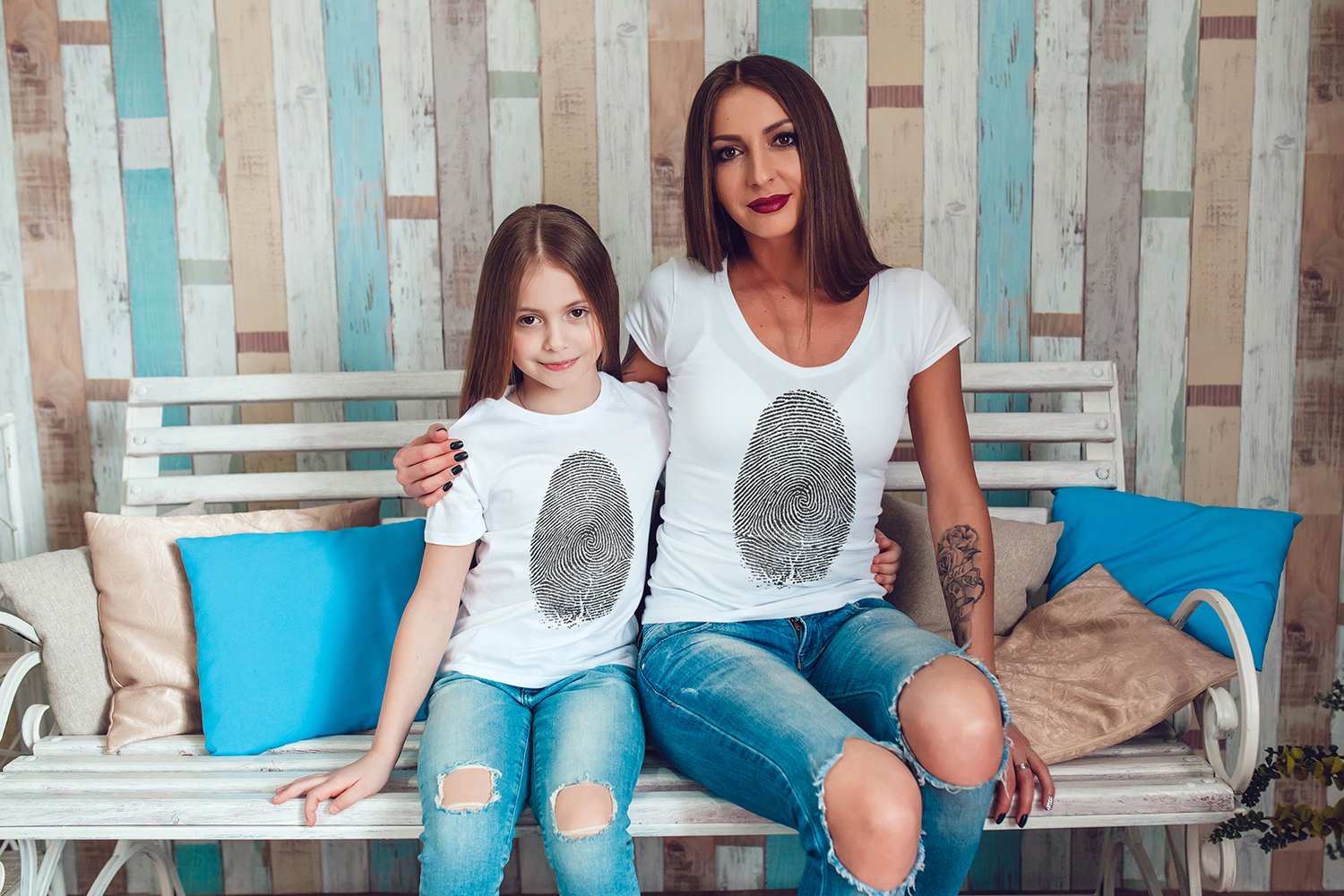 Family T-Shirt Mock-Up Vol.1 2017 example image 4
