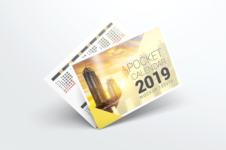 Pocket Calendar Mockups example image 7