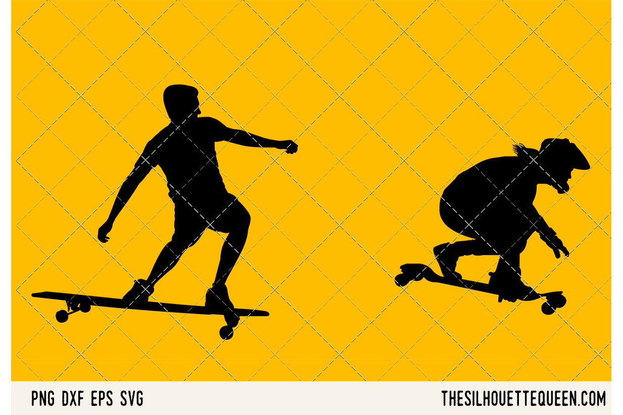 Long Boarding SVG example image 1
