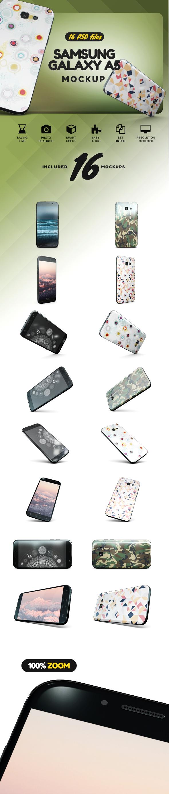 Samsung Galaxy A5 Mockup example image 2