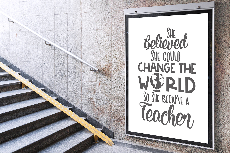 Teacher SVG Bundle. example image 3