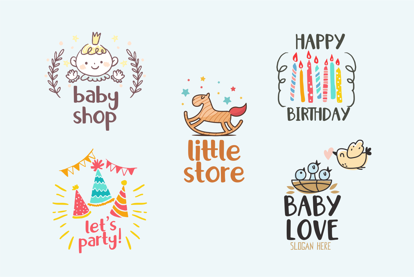 Little Santa Font | merry christmas font | 8 christmas cards example image 12