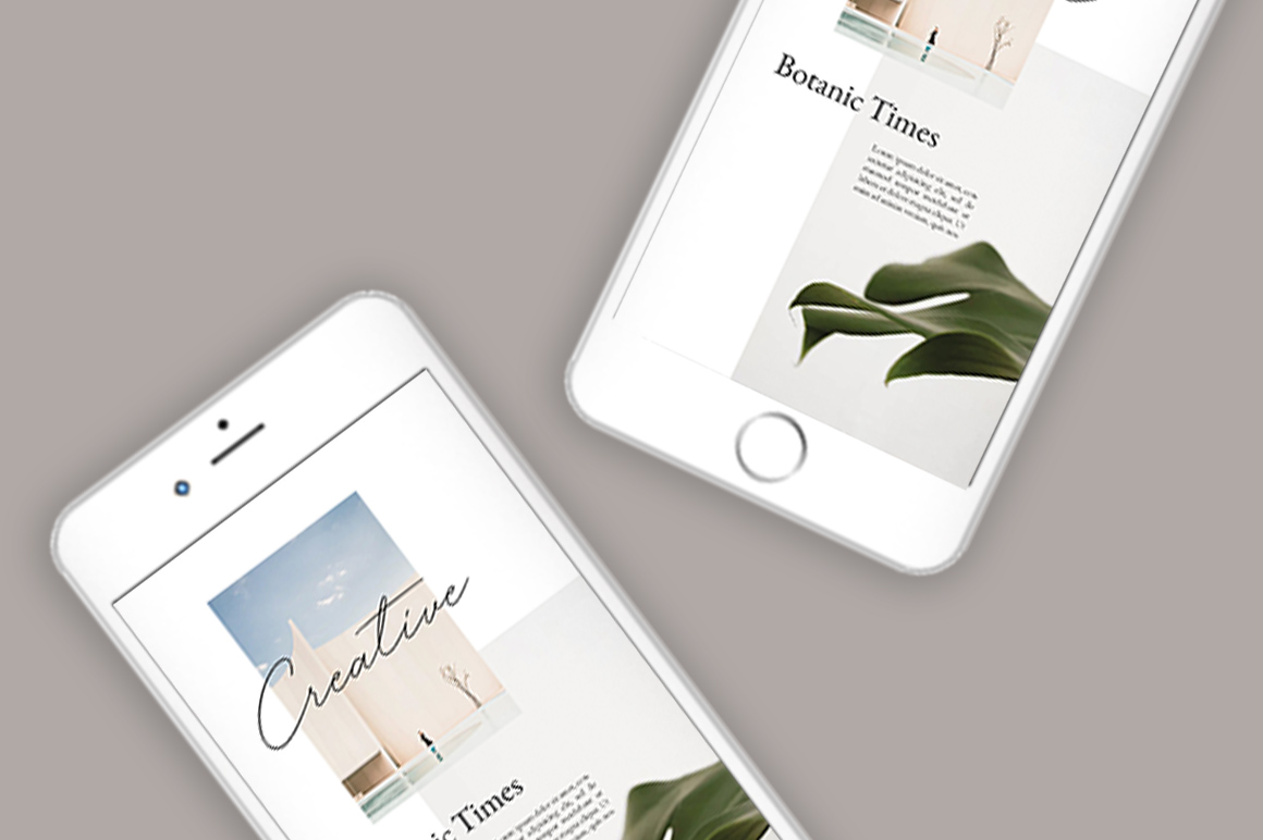 Neutral Instastories Templates example image 2
