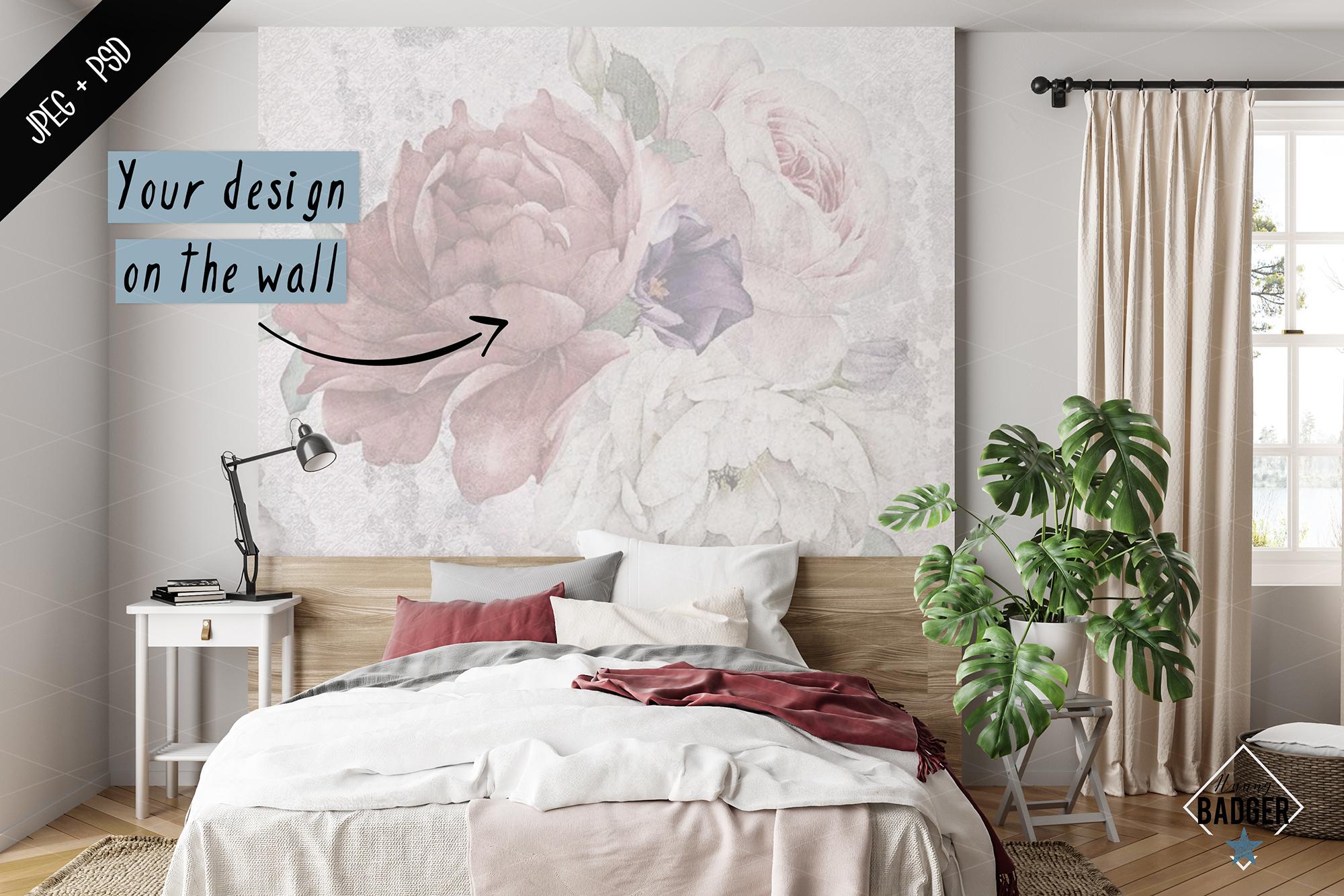 Interior mockup BUNDLE - frame & wall mockup creator example image 6