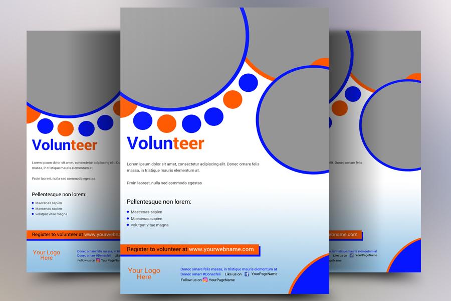 Volunteer Flyer example image 1