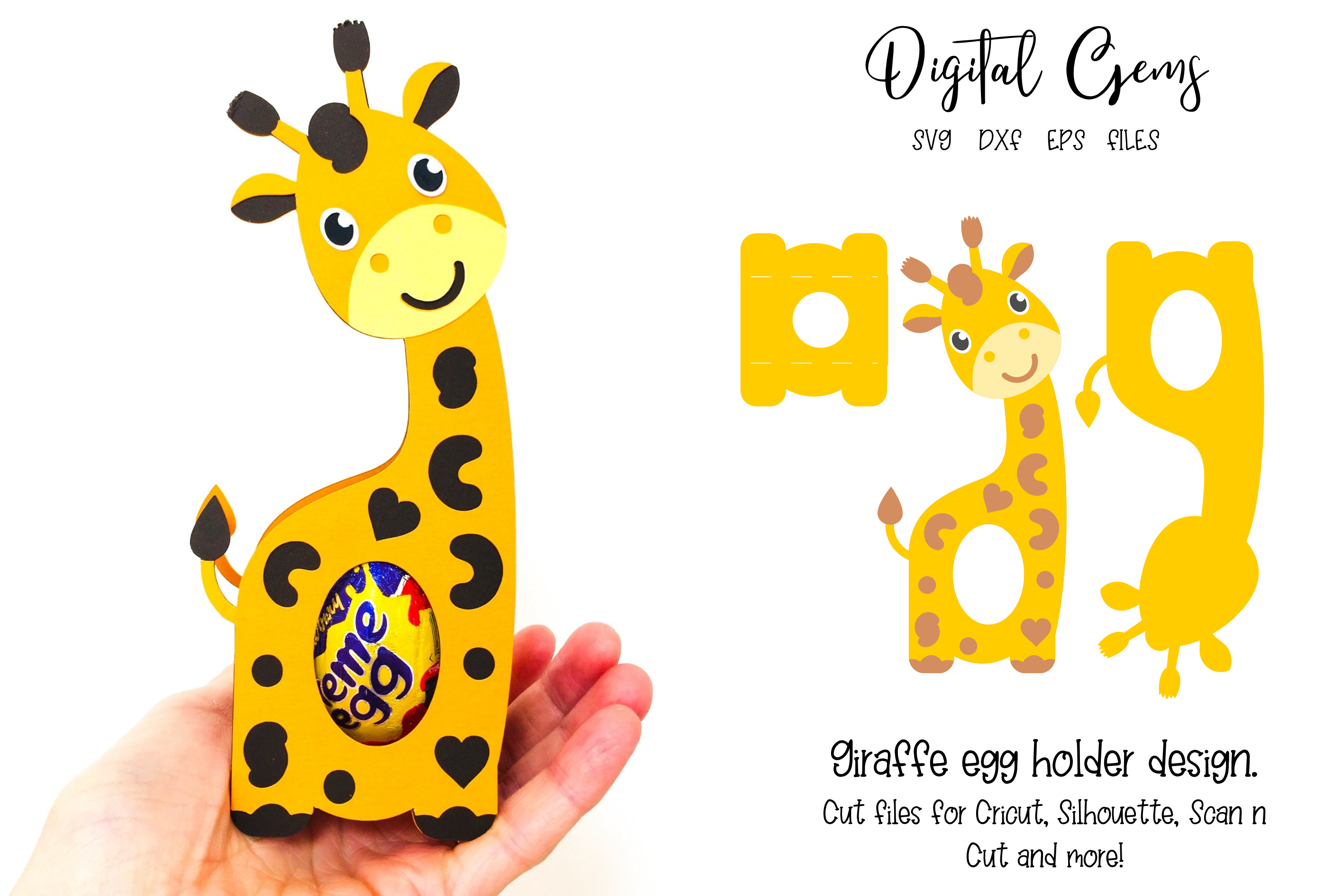 16 Animal egg holder designs - The complete set!!!! example image 2