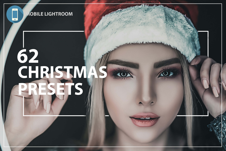 62 Christmas Mobile Lightroom Presets, X-mas Adobe LR preset example image 1