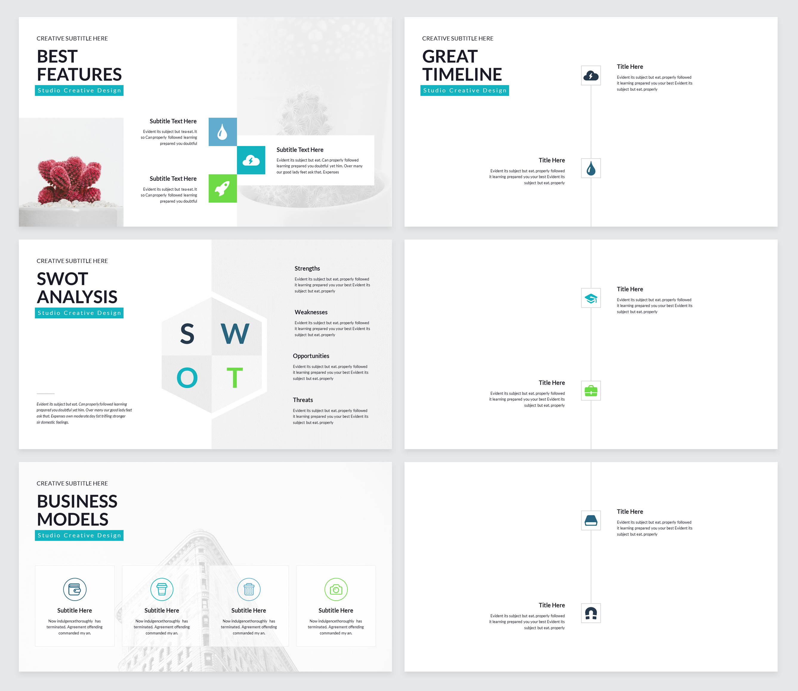 Rox Business PowerPoint Presentation Template example image 4
