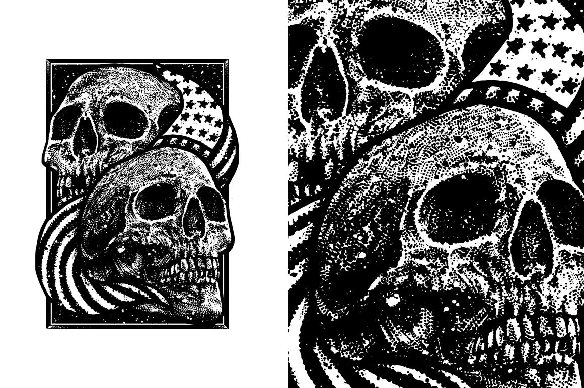 7 design skull VECTOR example image 2