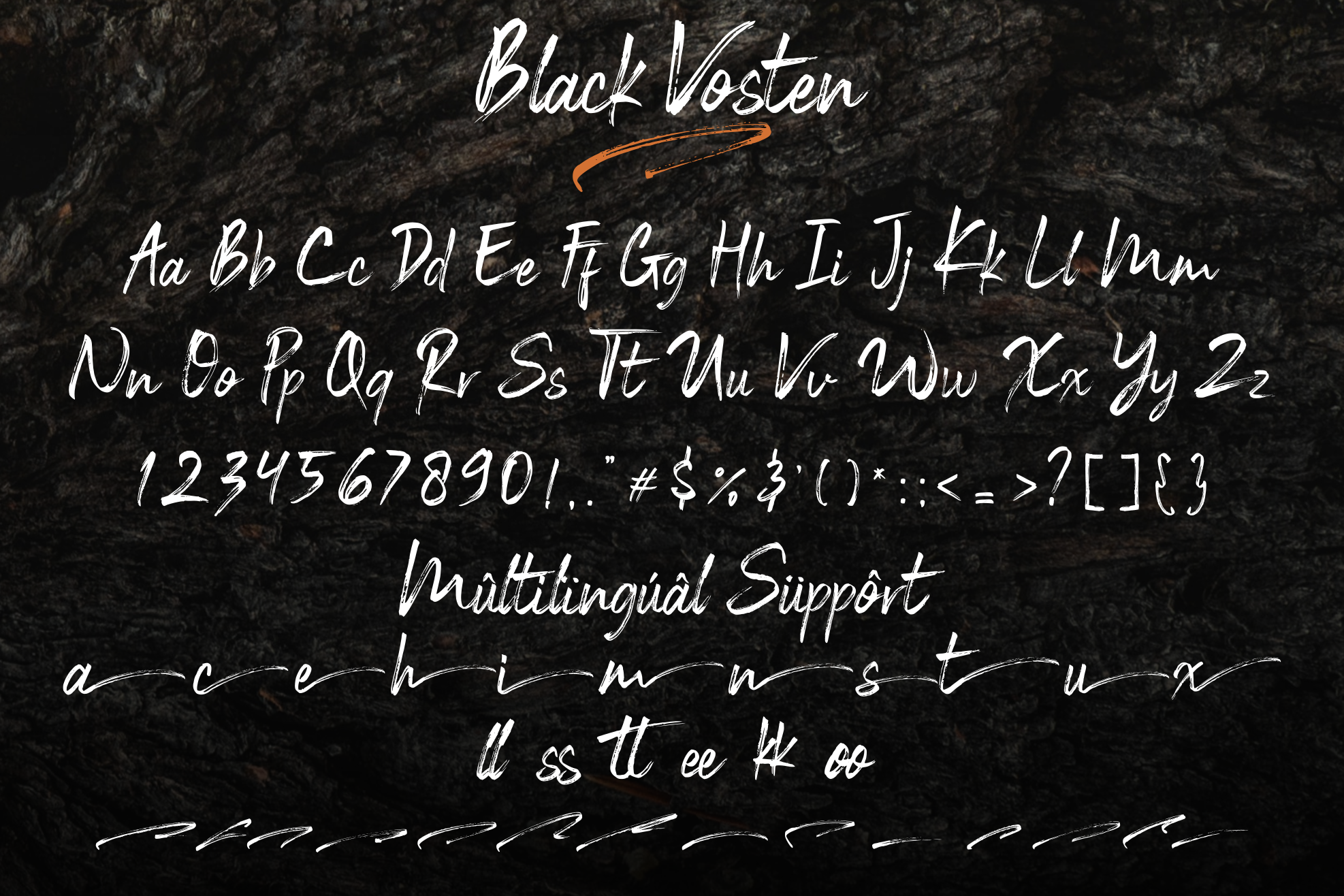 Black Vosten example image 8