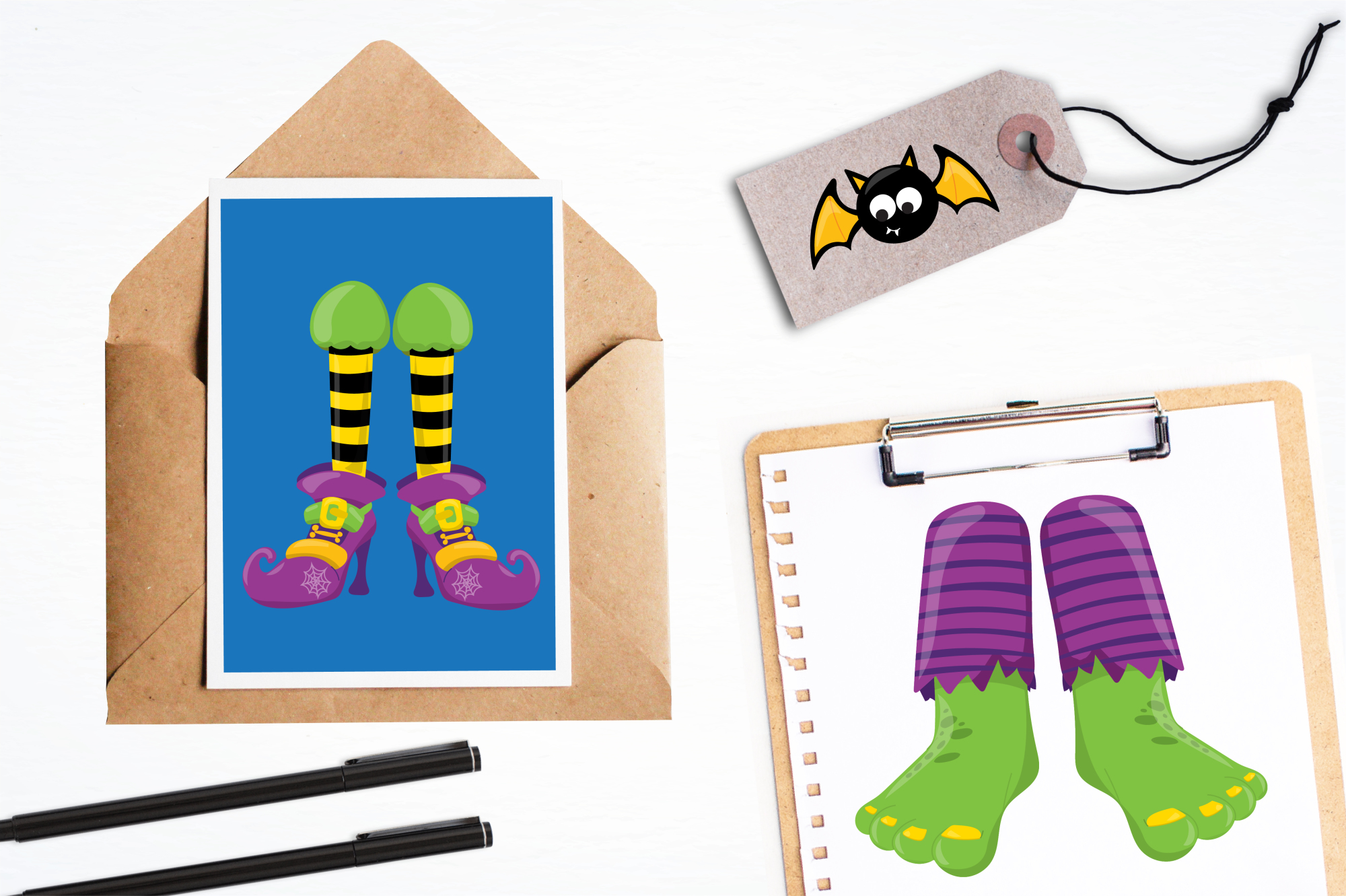 Halloween Feet graphics and illustrations example image 4