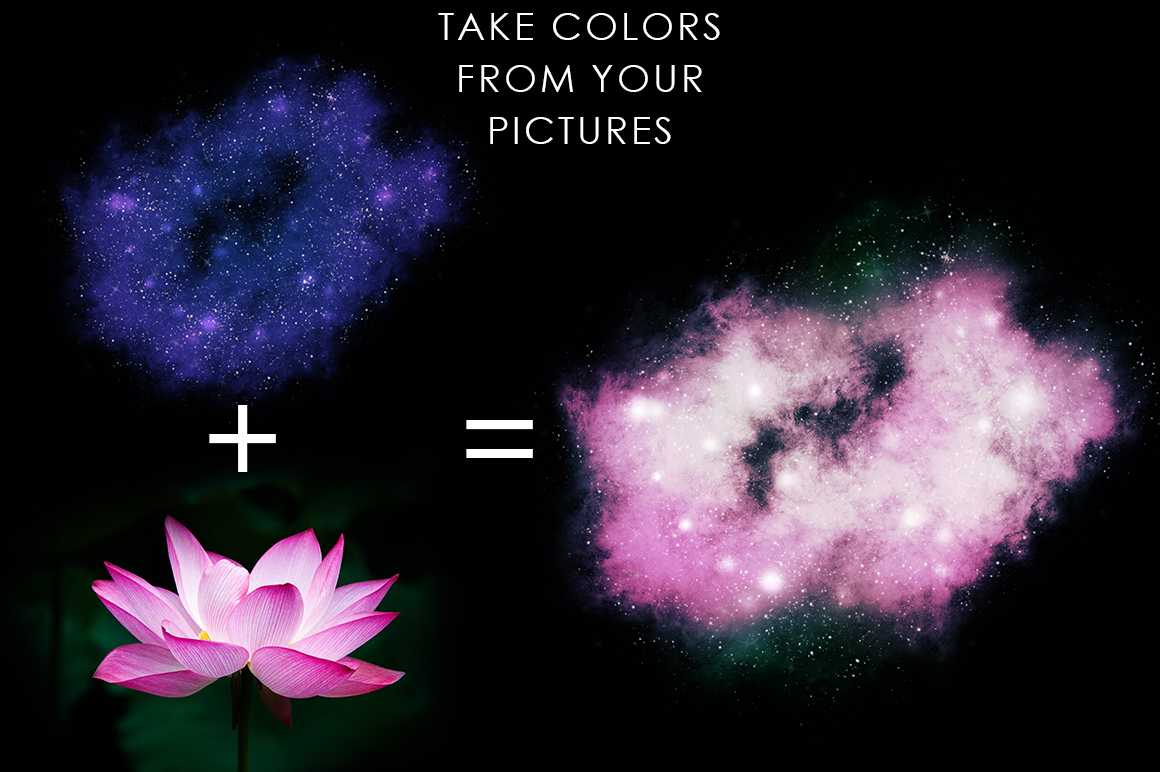 Space Photoshop Action example image 8