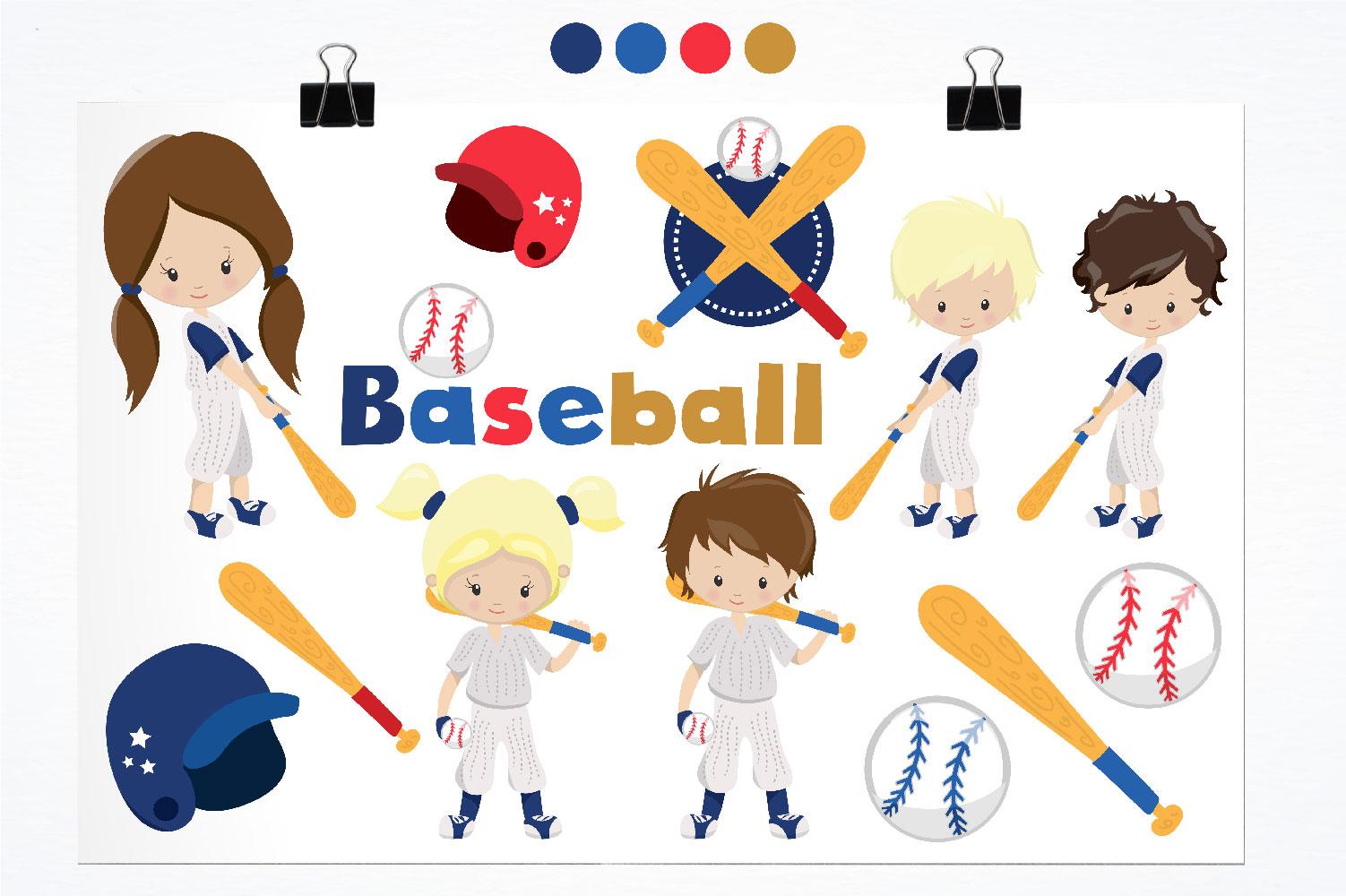 Baseball Cute Graphics example image 2