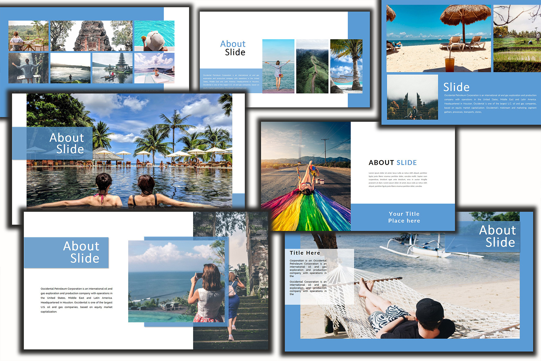 Holiday - Google Slides Presentation example image 3