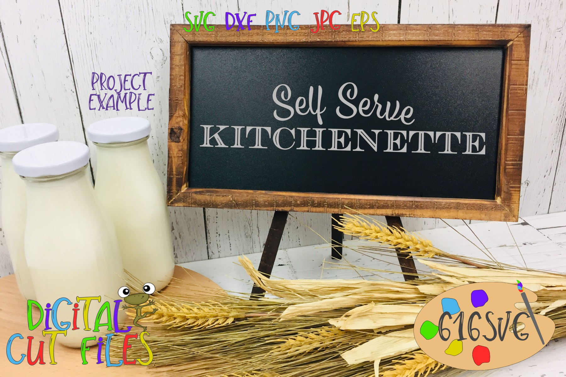 Kitchen Signs SVG example image 3