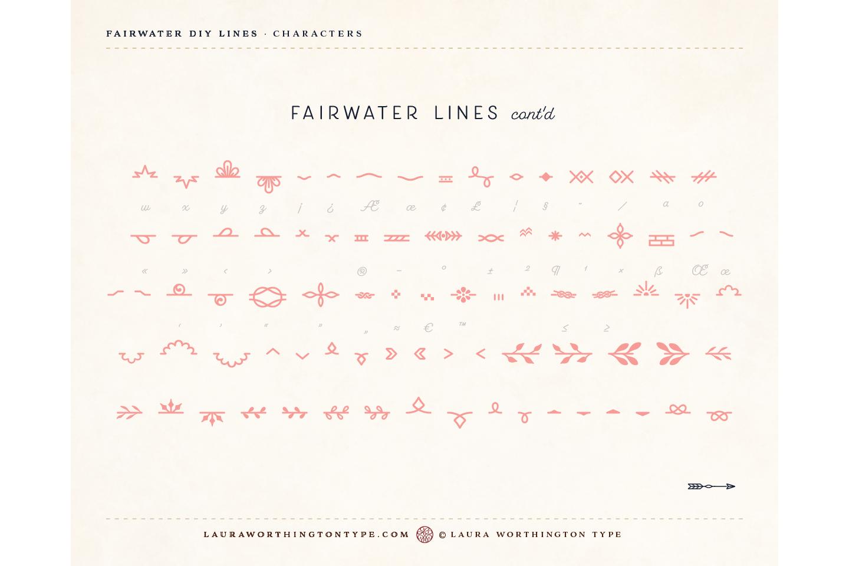 Fairwater DIY Lines example image 23