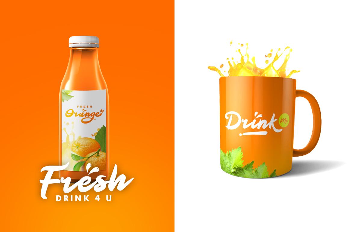 Orange Squash Script example image 6