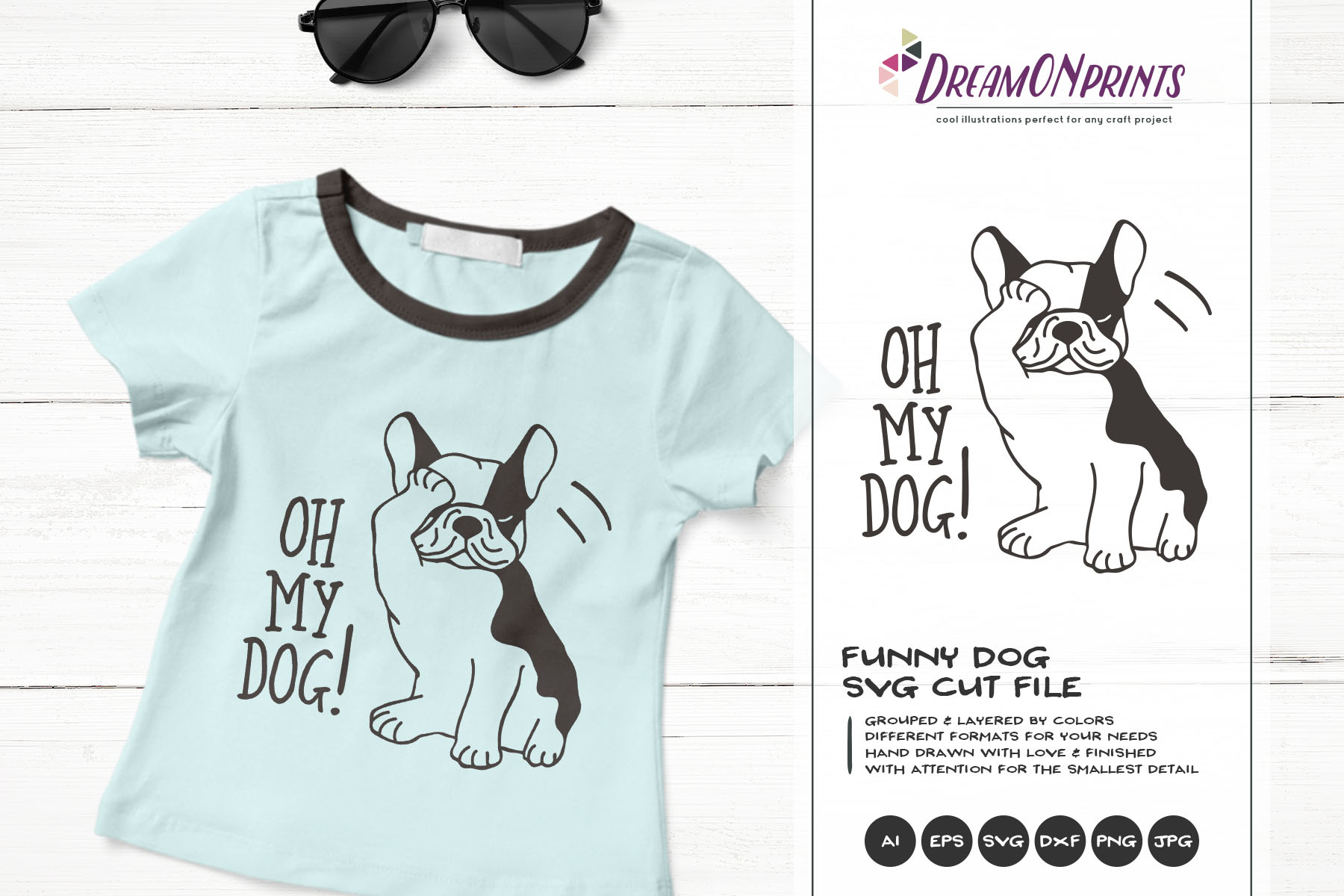 The Quirky Animals | Funny SVG Bundle example image 12