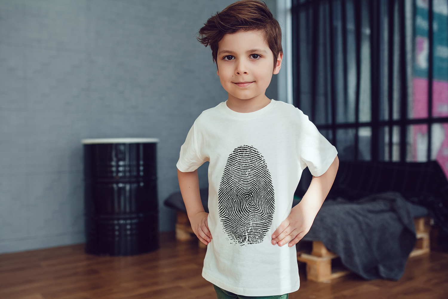 Kids T-Shirt Mock-Up Vol.2 2017 example image 7