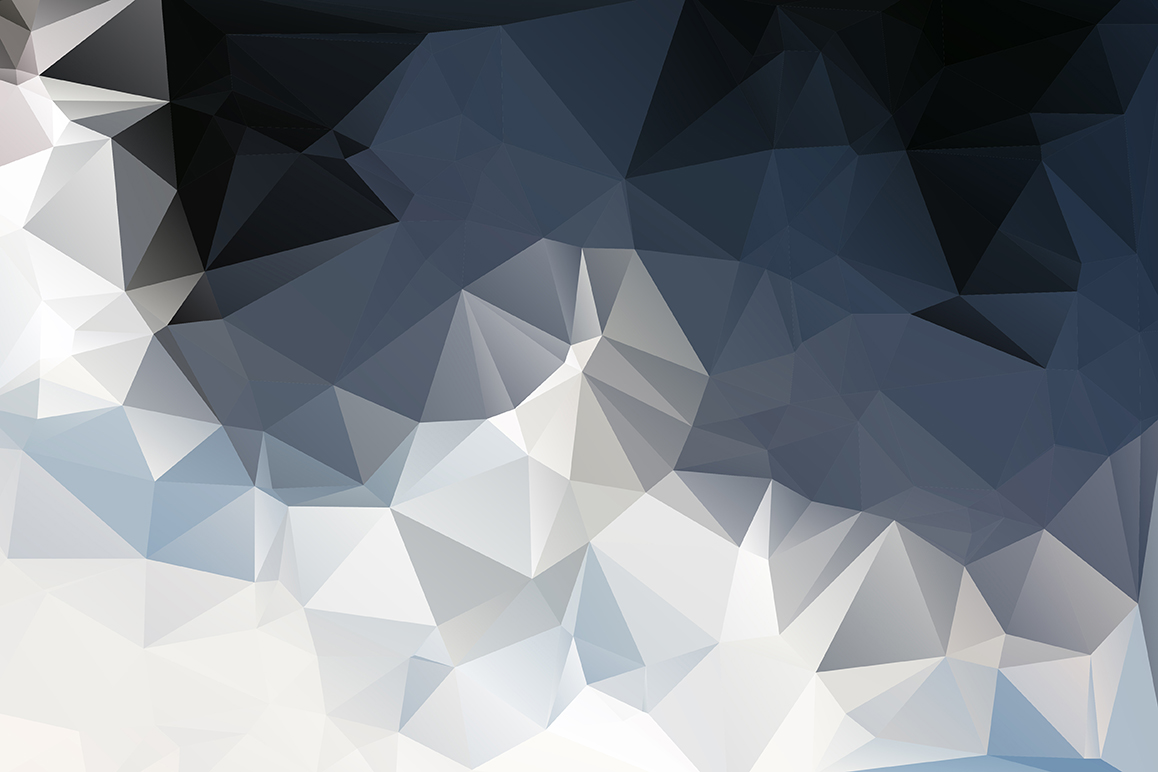 Polygon vector backgrounds set example image 4