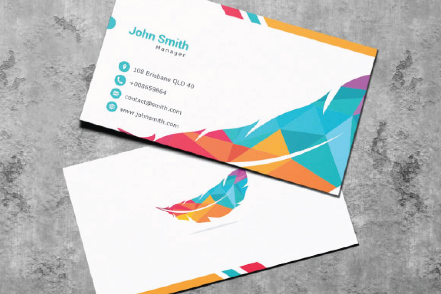 4 Business Card Designs example image 1