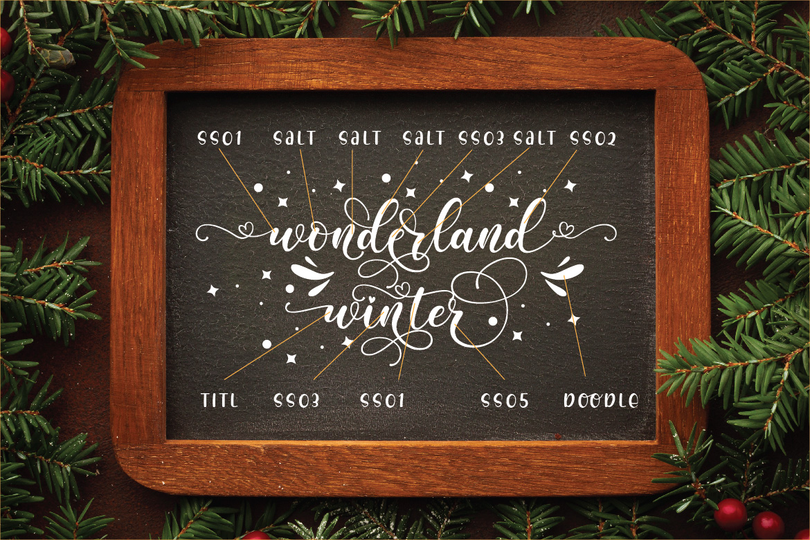 Lovely Calligraphy Collections example image 23