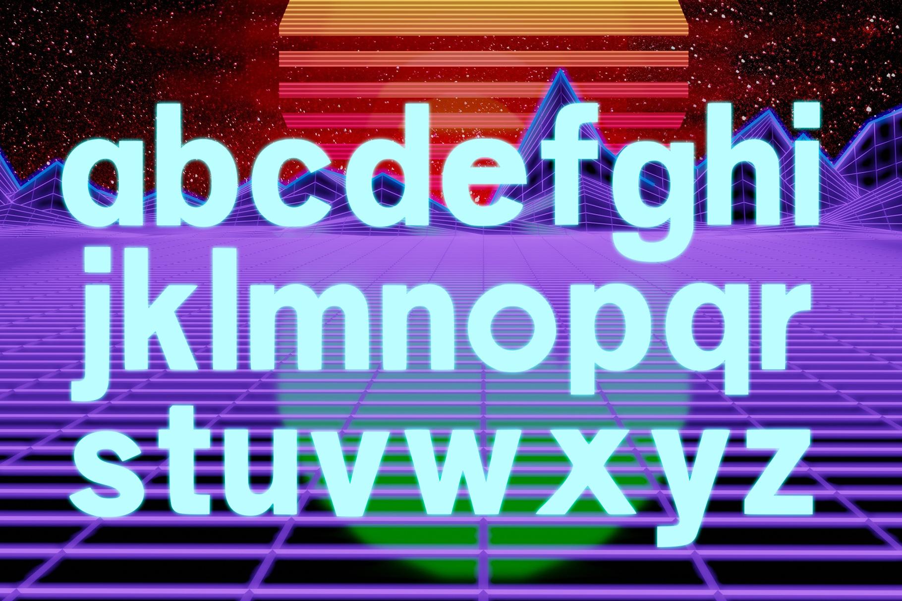 CONTROL - A Futuristic Typeface example image 5