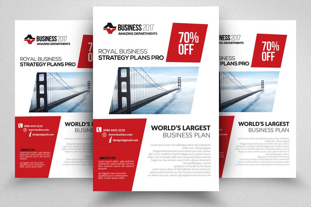 10 Corporate Flyer Templates Bundle example image 7