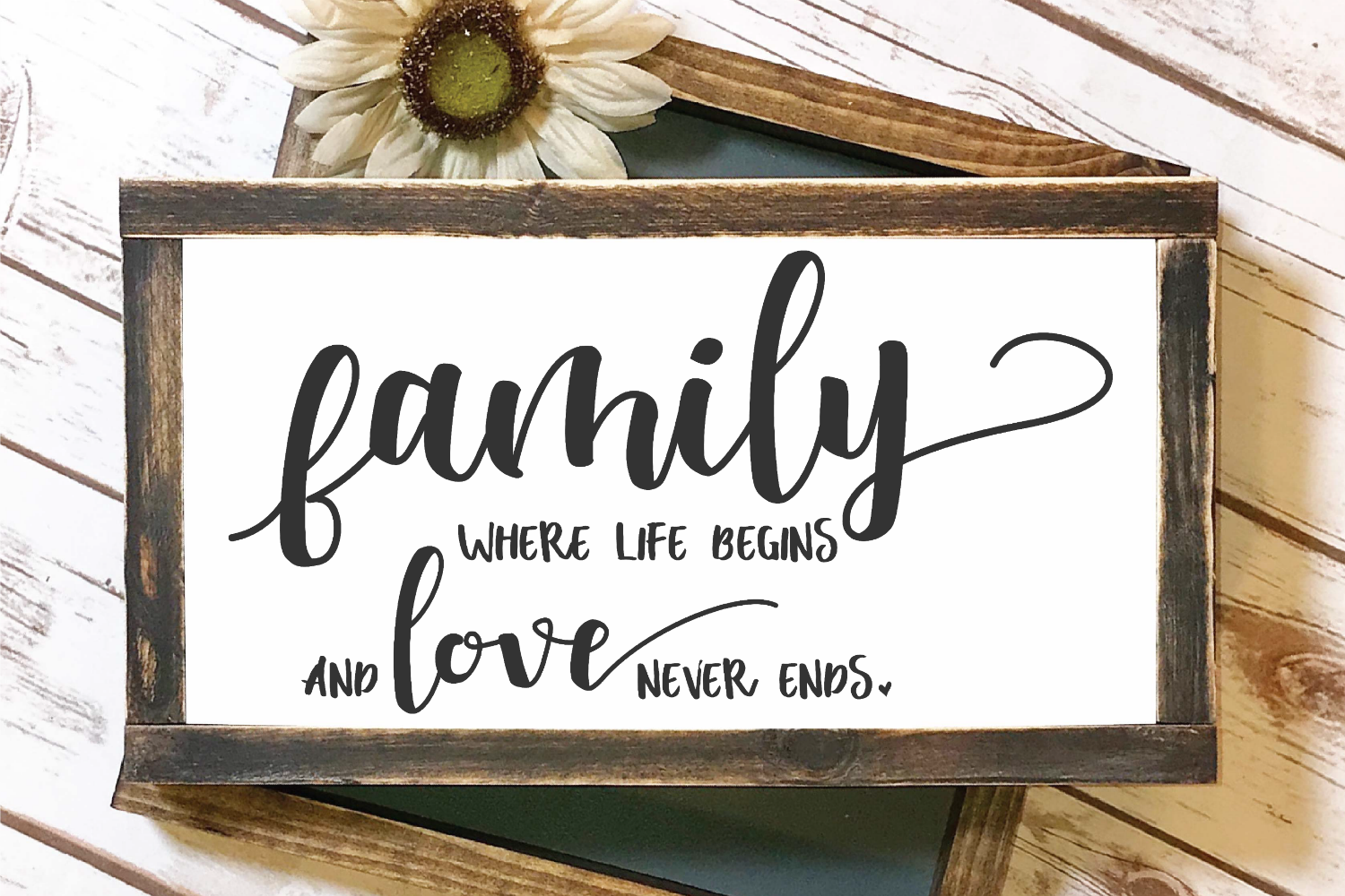 Welcome - Home - Doormat - Sign - Family Bundle SVG example image 6