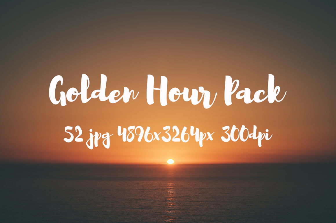 Golden hour Pack example image 27