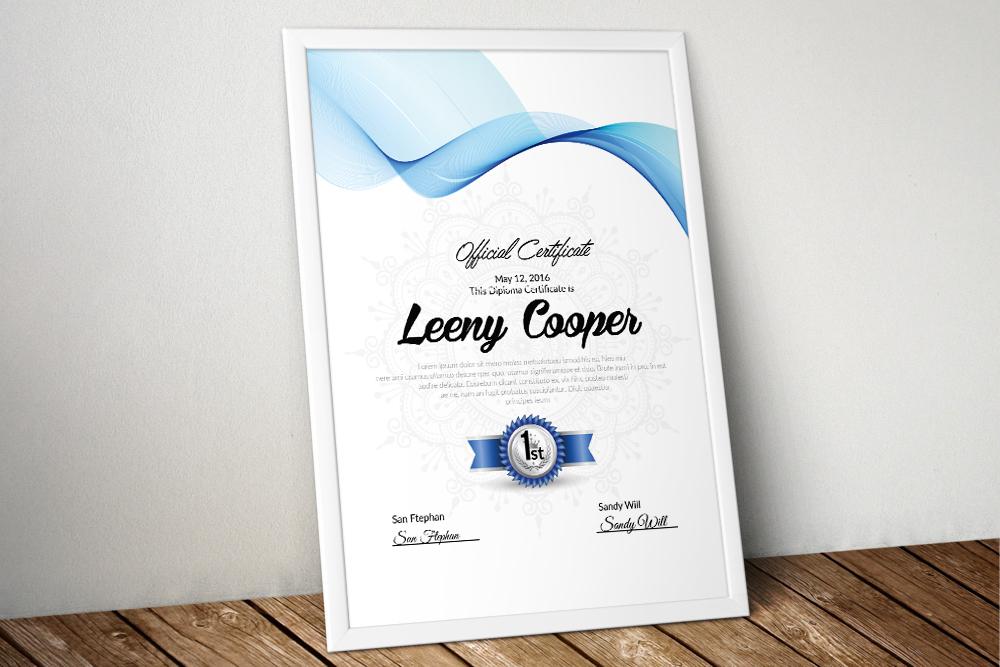 10 Certificates & Diploma Bundle example image 4