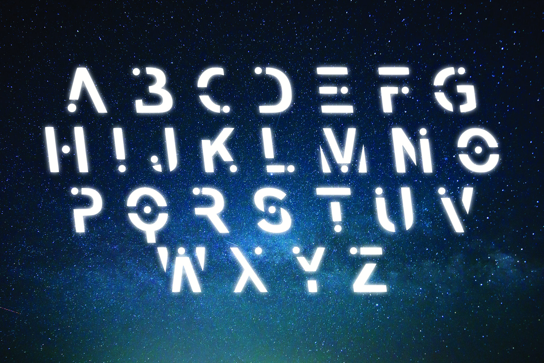 VOYAGER - Typefaces of the Future example image 2