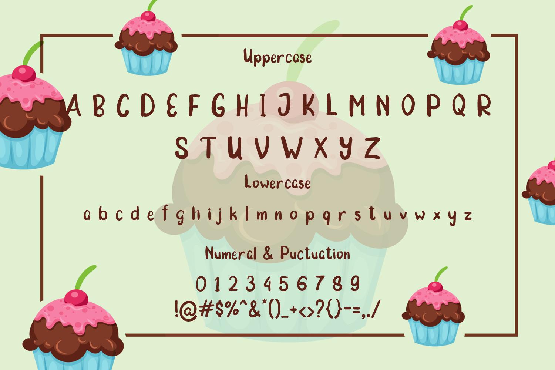 Morning Cake - Fun Font example image 6