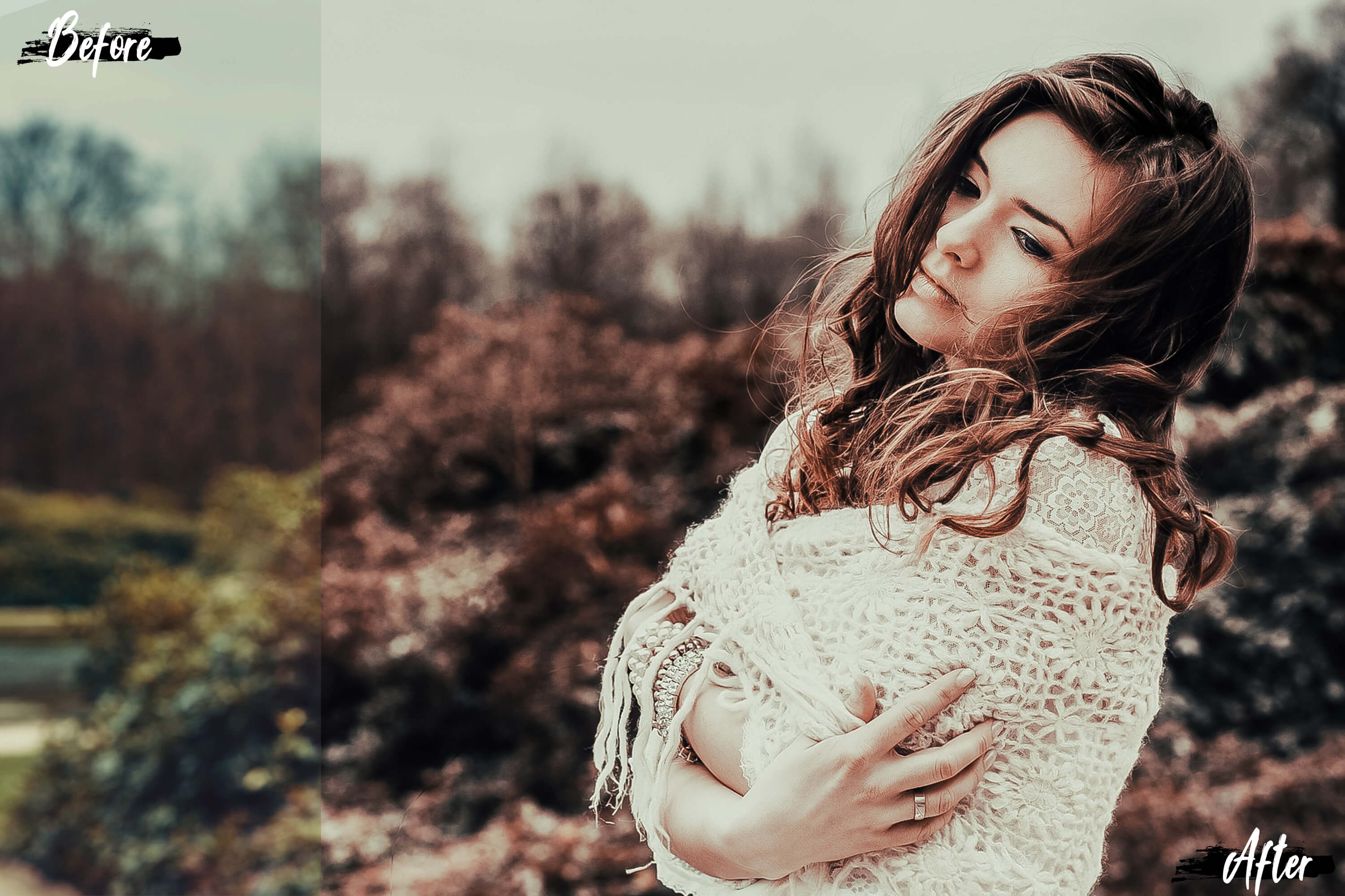 5 Dreamy Autumn Photoshop Actions, ACR and LUT presets example image 7