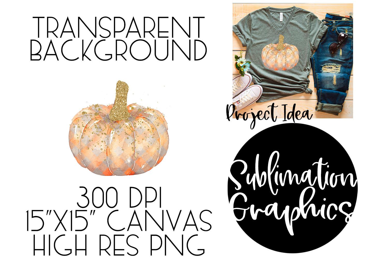 Plaid Pumpkin Sublimation Digital Download example image 1