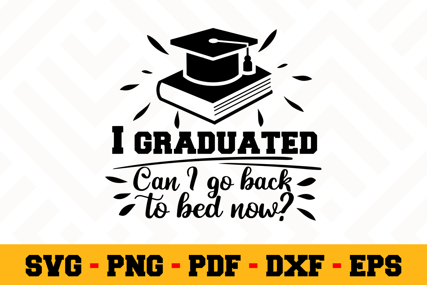 Graduation SVG Design n588 | Graduation SVG Cut File example image 1