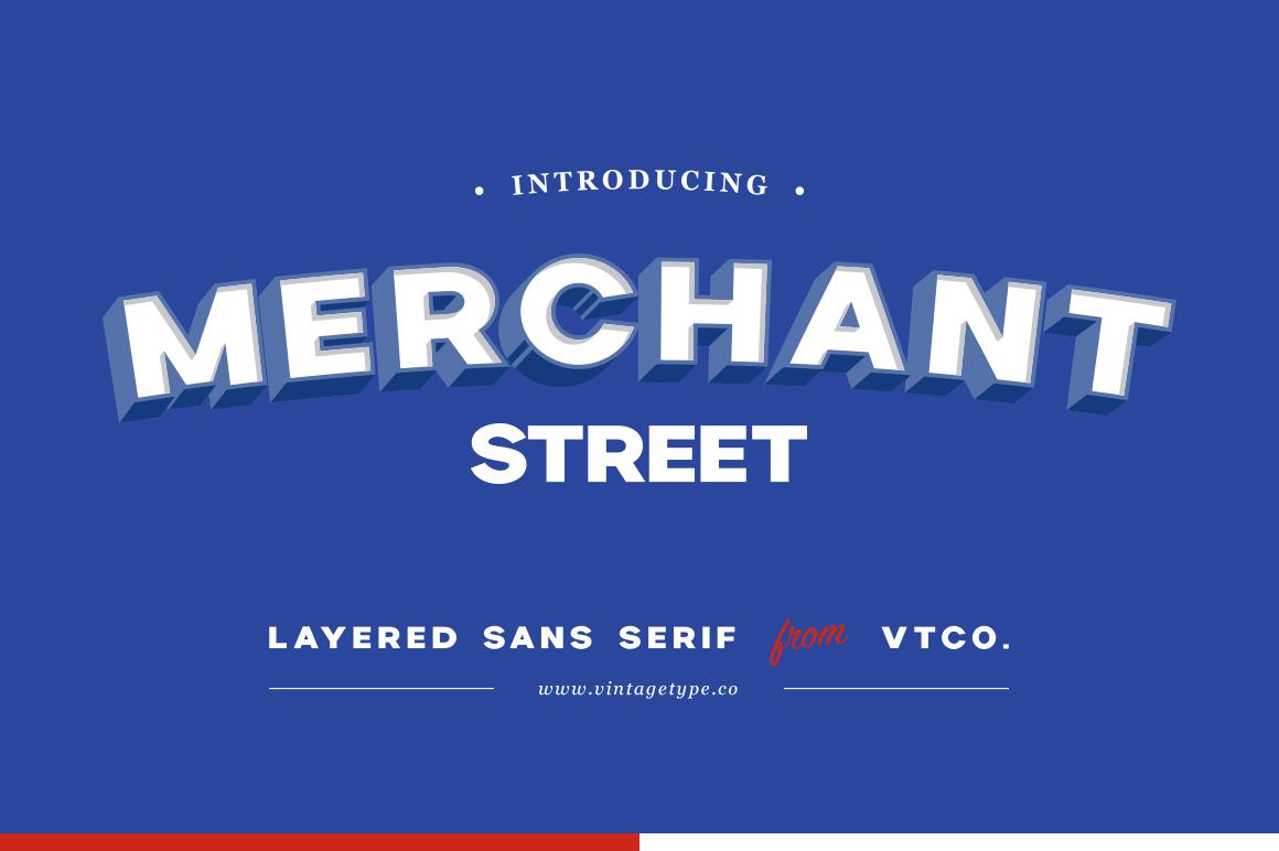 Merchant Street Sans example image 1