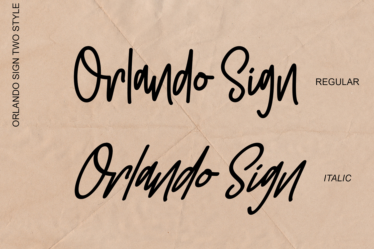 Orlando Sign | Stylishtic Monoline example image 9