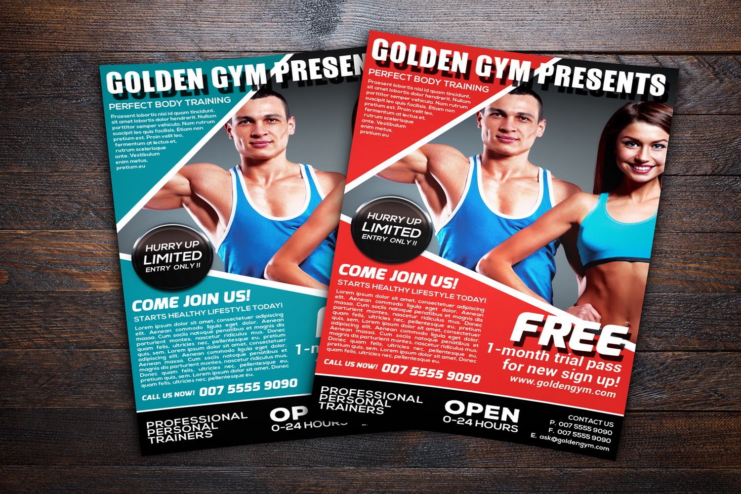 Fitness Sports Flyer example image 2