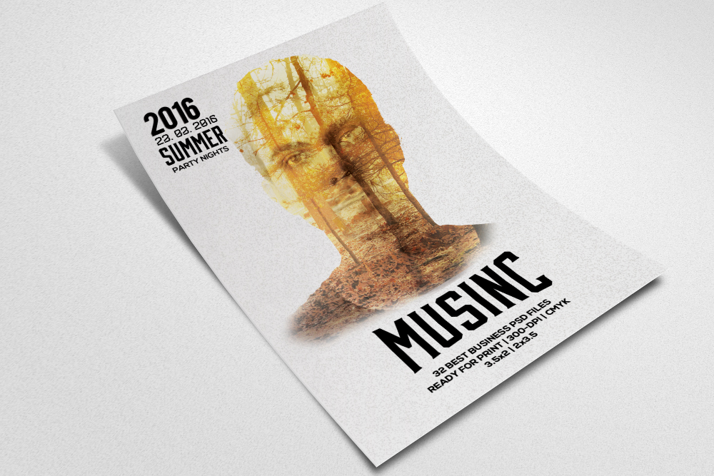 Artist Music Flyer example image 2