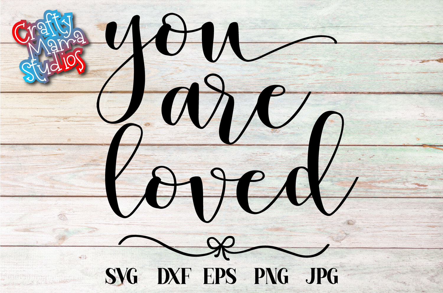 You Are Loved SVG, Wedding, Love, Sublimation example image 2